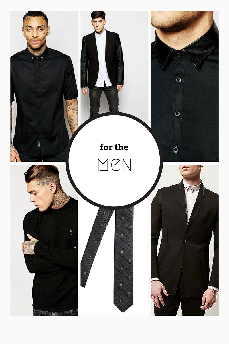 dark menswear fashion