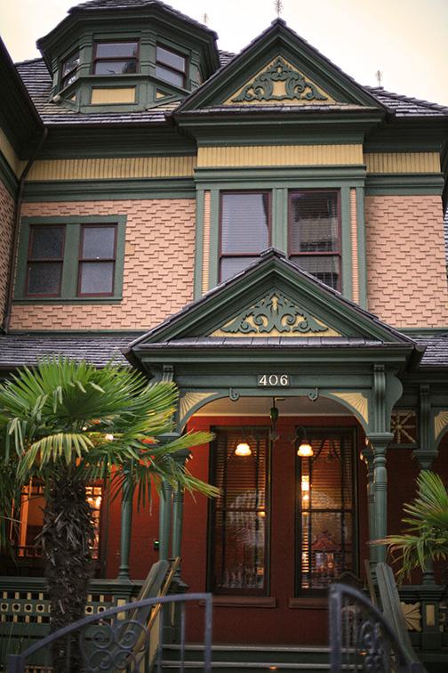The Britt Scripps Inn in San Diego