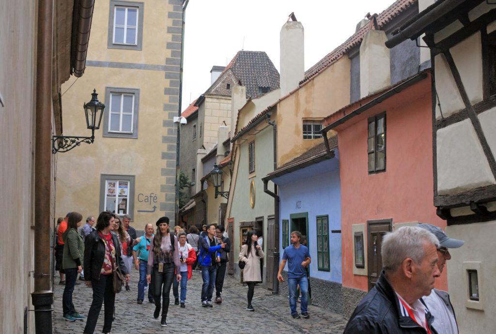 Golden Lane Prague