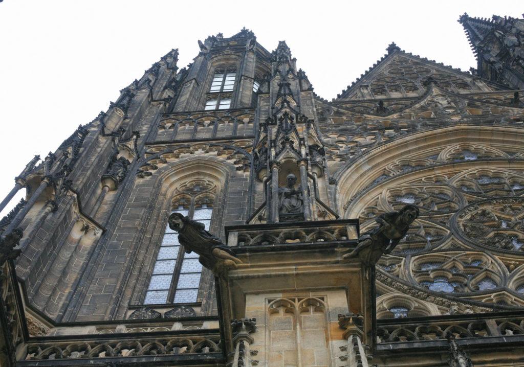 St Vitus Cathedral Prague gargoyle