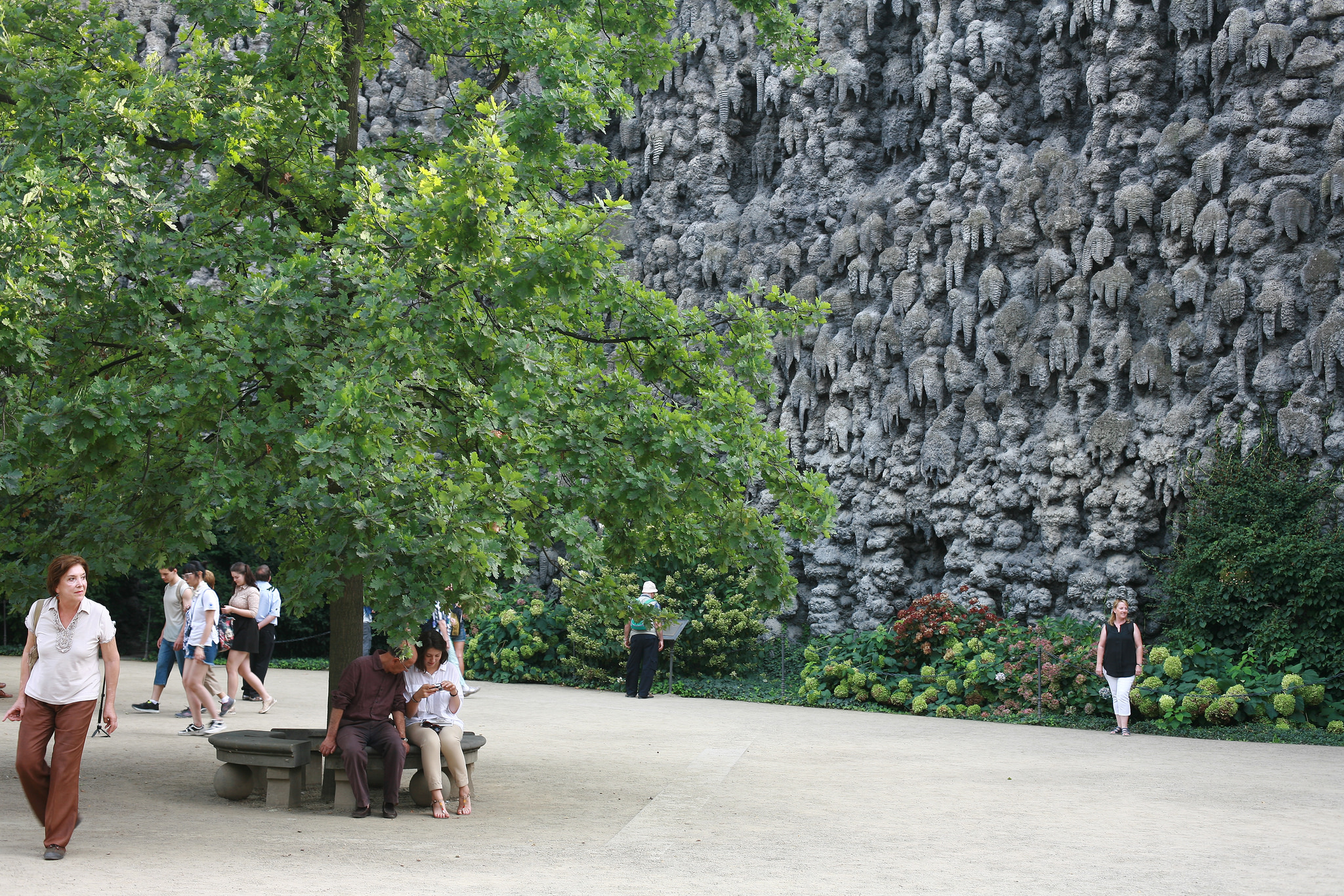 The Grotto at Wallenstein Gardens in Prage