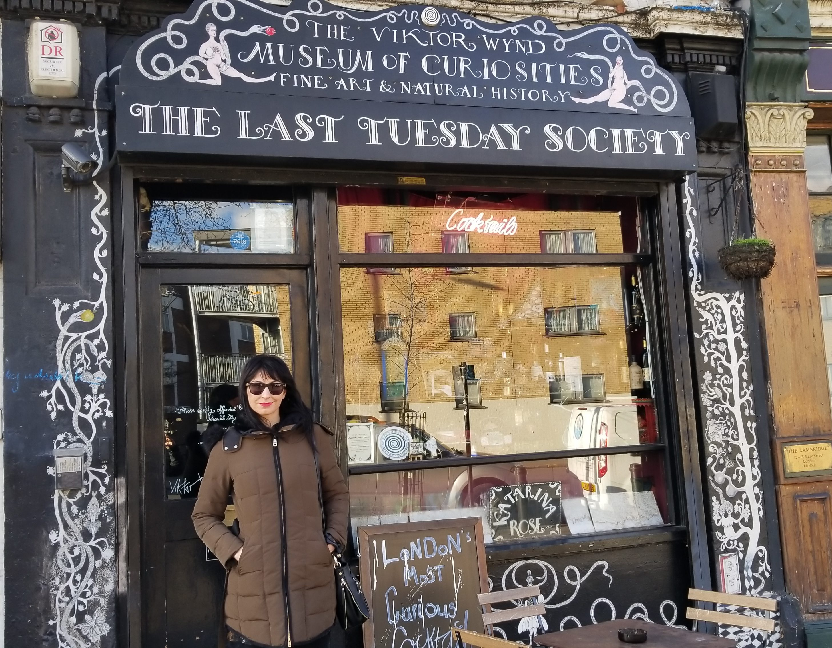 the Last Tuesday Society and Viktor Wynd Museum of Curiosities